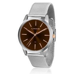 Relógio Feminino Lince Analógico LRT4407L M1SX Pulseira Esteira