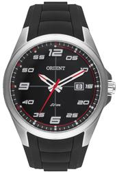 Relógio Masculino Orient Analógico MBSP1022 PVPX Fundo Preto e Vermelho