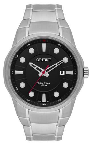 Relógio Masculino Orient Analógico MBSS1286 P1SX Fundo Preto