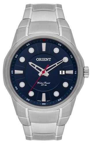 Relógio Masculino Orient Analógico MBSS1286 D1SX Fundo Azul