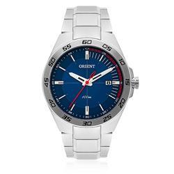 Relógio Masculino Orient Analógico MBSS1299 D1SX Fundo Azul
