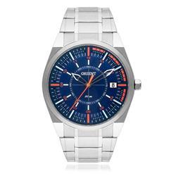 Relógio Masculino Orient Analógico MBSS1316 DOSX Fundo Azul