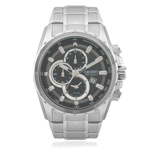 Relógio Masculino Orient Chronograph MBSSC115 G1SX Aço