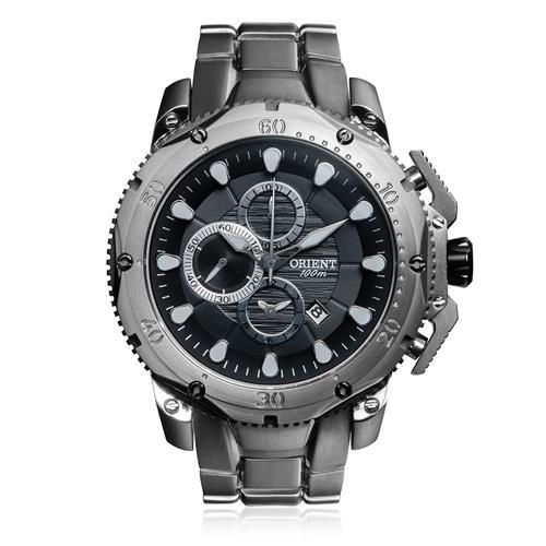 Relógio Masculino Orient Chronograph MBTTC011 P1PX Titânio