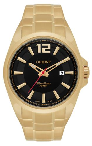 Relógio Masculino Orient Analógico MGSS1094 P2KX Fundo Preto