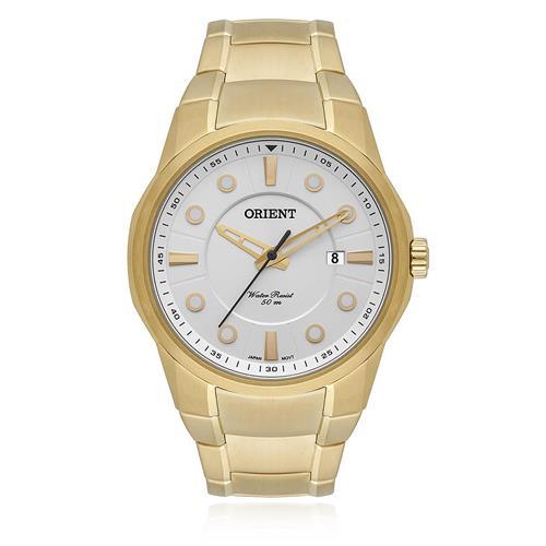 Relógio Masculino Orient Analógico MGSS1121 S1KX Dourado
