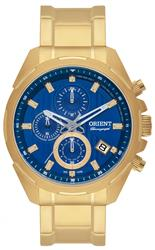 Relógio Masculino Orient Chronograph MGSSC014 D1KX Dourado