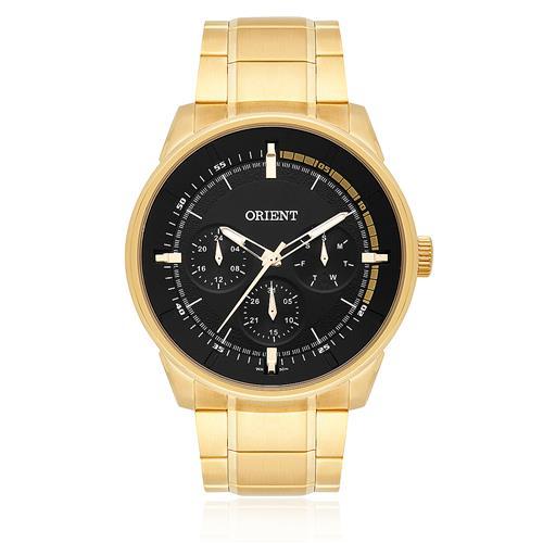 Relógio Masculino Orient Analógico MGSSM026 P1KX Fundo Preto