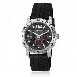 Relógio Masculino Magnum Multifunction MA31168T Borracha Preta