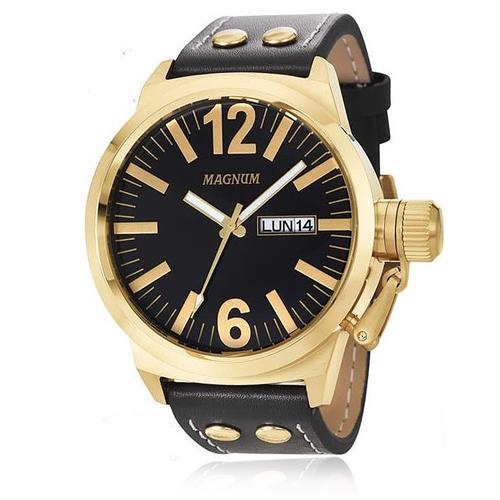 Relógio Masculino Magnum MA31524U Dourado
