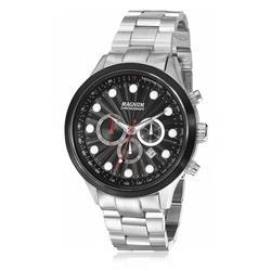 Relógio Masculino Magnum Chronograph MA32569P Fundo Preto