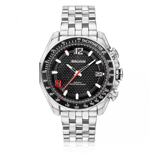 Relógio Masculino Magnum MA32176T Fibra de Carbono