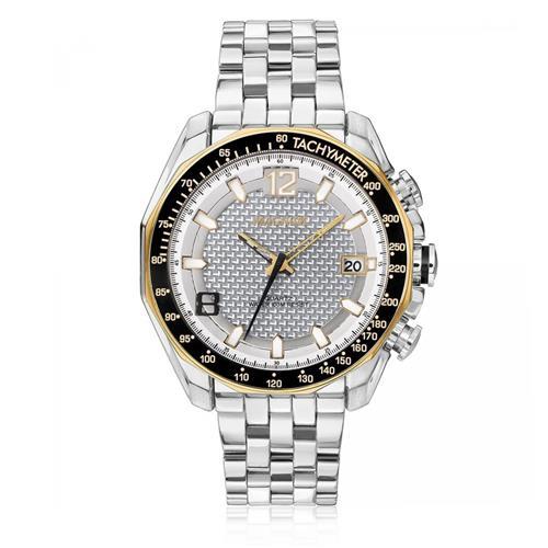 Relógio Masculino Magnum MA32176Z Aço com detalhes em rose
