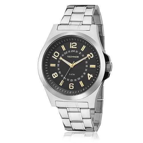 Relógio Masculino Technos 2035MFC/1Y Fundo Preto