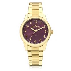 Relógio Feminino Technos Boutique 2035MKM/4G Fundo Vinho