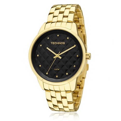 Relógio Feminino Technos Fashion Trend 2035LWM/4P Fundo Preto