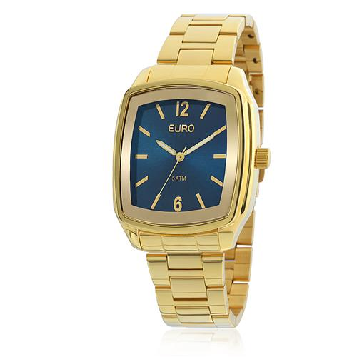 Relógio Feminino Euro Basic Analógico EU2039ICTD/4D Dourado