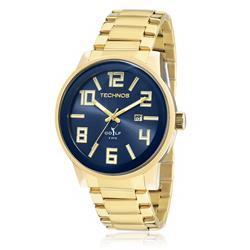 Relógio Masculino Technos Classic Golf 2115KQU/4A Fundo Azul