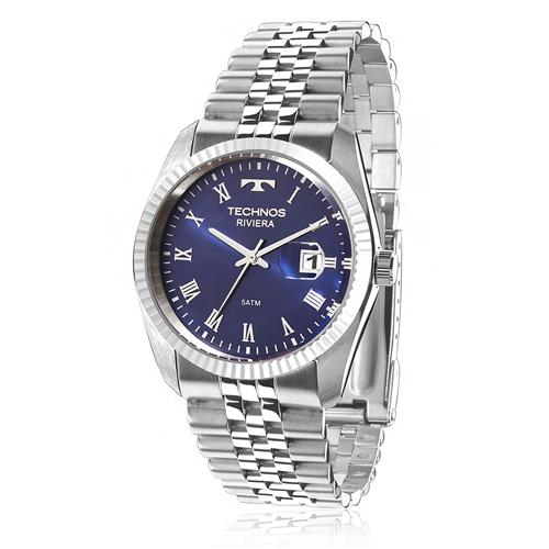 Relógio Feminino Technos Classic Riviera 2115KQP/1A Fundo Azul
