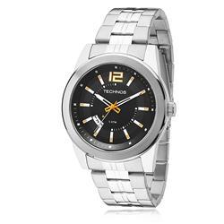Relógio Masculino Technos Racer 2115KSV/1L Fundo Preto
