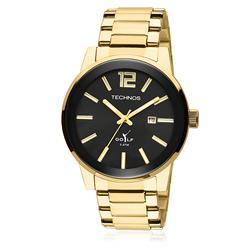 Relógio Masculino Technos Golf 2115TT/4P Fundo Preto