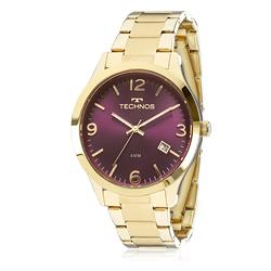 Relógio Feminino Technos Elegance Dress 2315ACD/4N Fundo Vinho