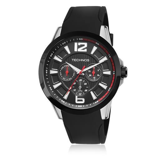 Relógio Masculino Technos Performance Racer 6P29AHC/8P Borracha