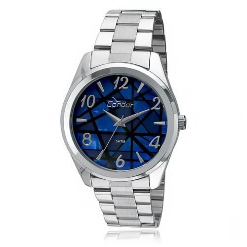 Relógio Feminino Condor Analógico CO2035KLV/3A Fundo Azul