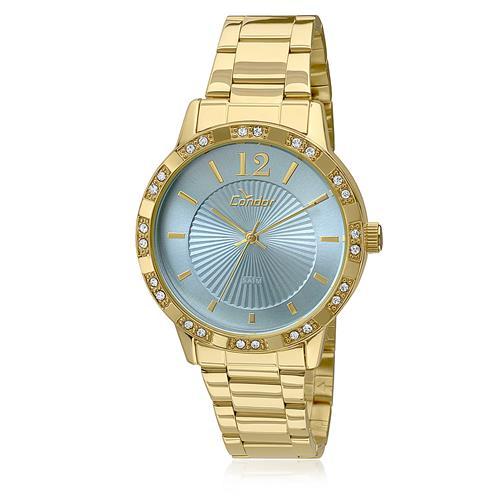 Relógio Feminino Condor Analógico CO2035KMN/4A Fundo Azul