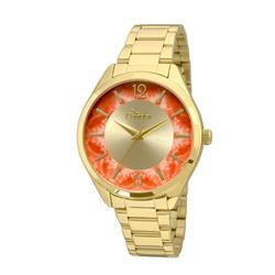 Relógio Feminino Condor Analógico CO2035KRR/4L Fundo Vermelho