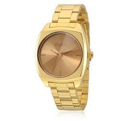 Relógio Feminino Euro Fumê Analógico EU2035YCF/4M Dourado