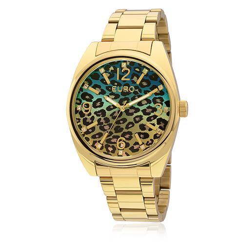 Relógio Feminino Euro Print Degradê Analógico EU2035YBO/4A Dourado