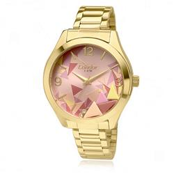 Relógio Feminino Condor por Anitta CO2036KOD/4T Fundo Rosa