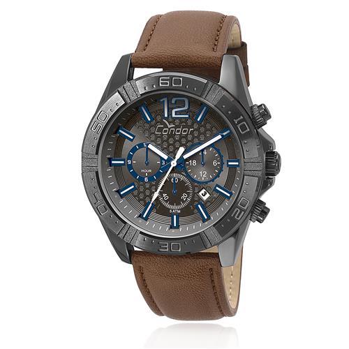 Relógio Masculino Condor Analógico COVD33AS/2P Couro Marrom