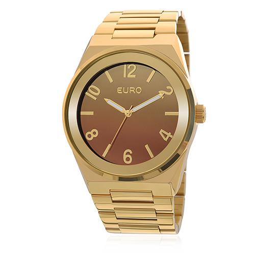 Relógio Feminino Euro Premium Analógico EU2035YAF/4M Dourado