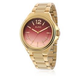 Relógio Feminino Euro Premium Analógico EU2035XYG/4R Dourado