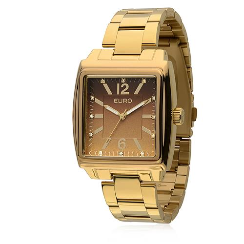 Relógio Feminino Euro Analógico EU2035LRX/4M Dourado