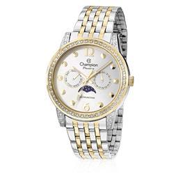 Relógio Feminino Champion Passion CH38379B Aço Misto