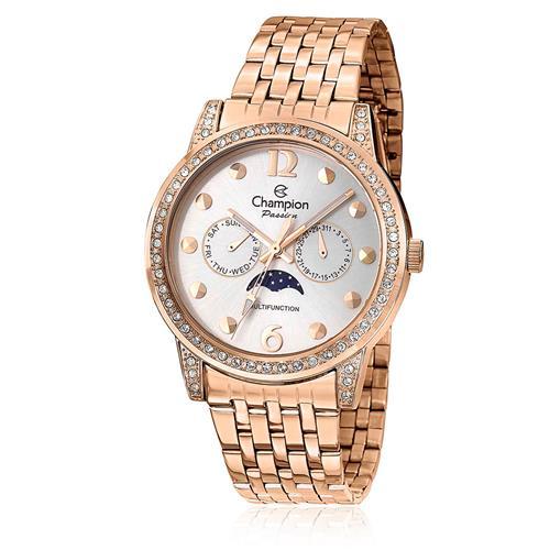 Relógio Feminino Champion Passion CH38379Z Aço Rose