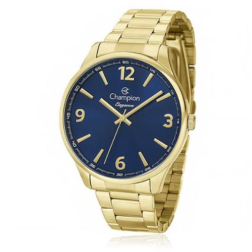 Relógio Feminino Champion Elegance CN26206A Fundo Azul