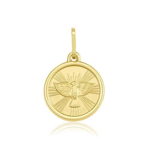Pingente Espirito Santo em ouro amarelo