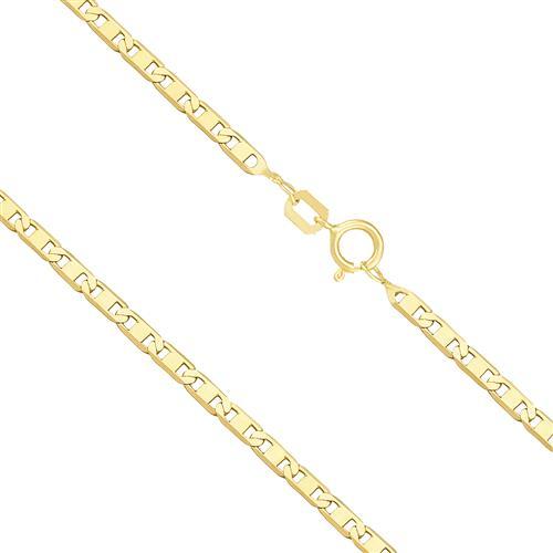 Corrente Masculina,  Malha Piastrine 5,4 gramas em Ouro Amarelo