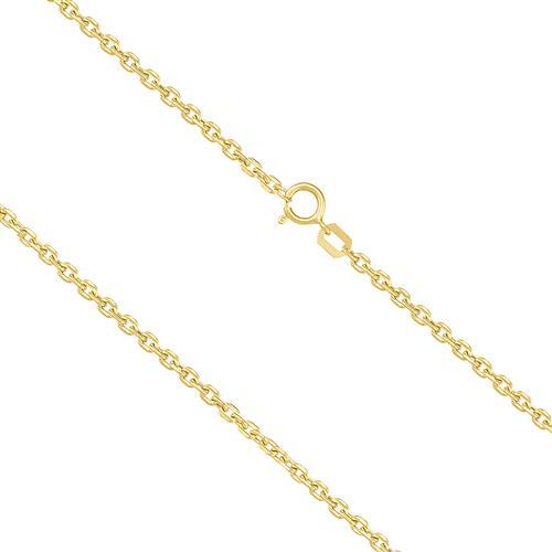 Corrente Masculina Elos Cartier, 2,3 gramas em Ouro Amarelo