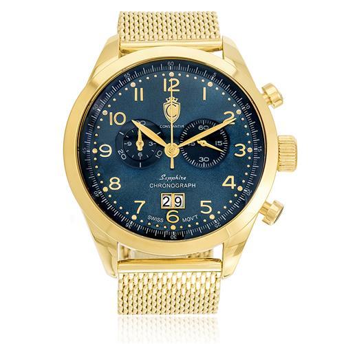 Relógio Constantim Chronograph Sapphire ZW20029A Pulseira Esteira