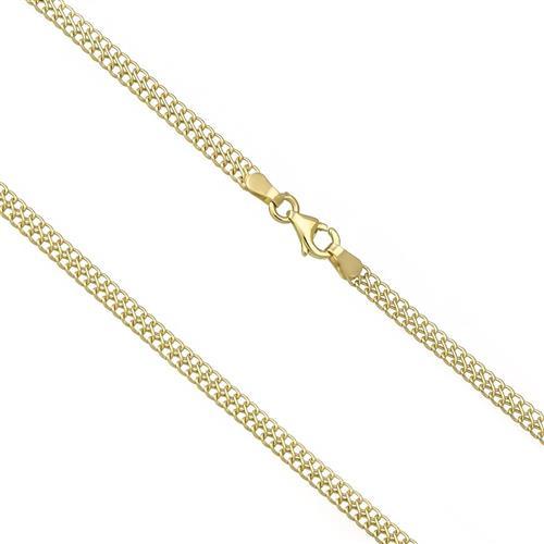 Corrente Feminina Malha Italiana com 45 cm, 2,5 gramas em Ouro Amarelo