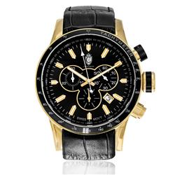 Relógio Constantim Gold Black