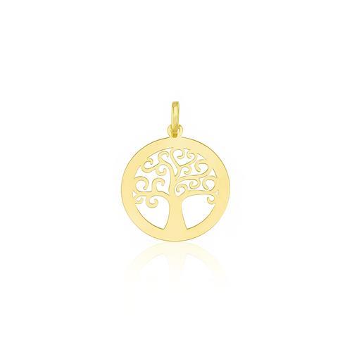 Pingente Árvore da Vida, em Ouro Amarelo