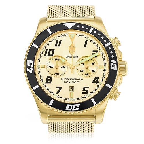 Relógio Constantim Completely Gold