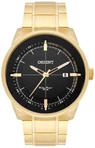 Relógio Masculino Orient Analógico MGSS1129 P1SX Fundo Preto