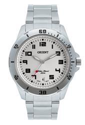 Relógio Masculino Orient Analógico MBSS1155A S2SX Fundo Prateado